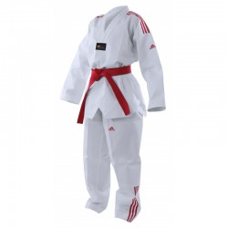 Adi-Club 3 bandes rouges taekwondo adidas